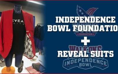 Independence Bowl Foundation Partners with Reveal Suits